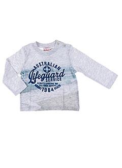 T-shirt manches longues gris BOBOLI pour garçon