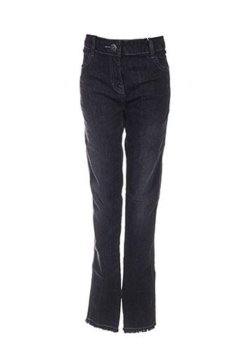 boboli jeans fille de couleur noir