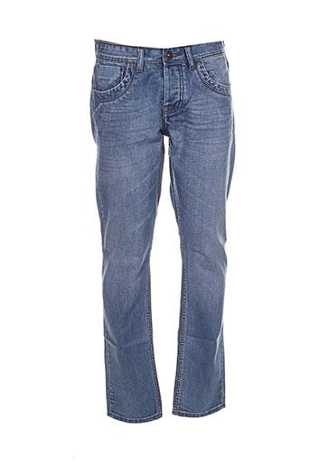 original ado jeans homme de couleur bleu