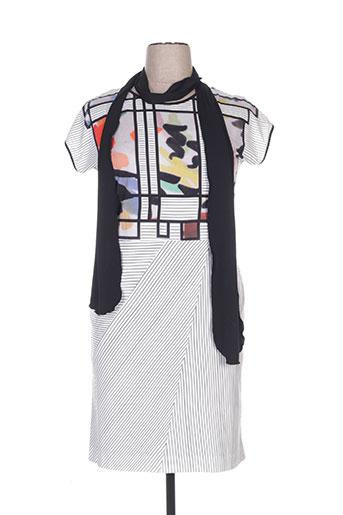 chema blanco robes femme de couleur blanc