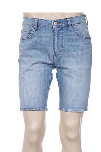 lee shorts / bermudas homme de couleur bleu