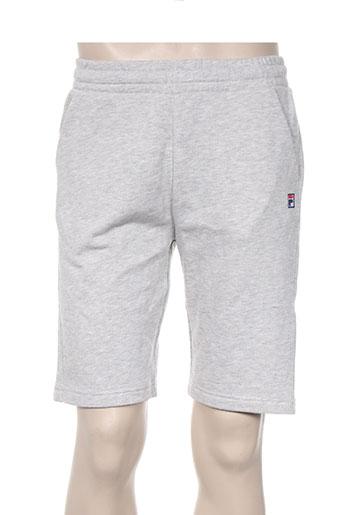fila shorts / bermudas homme de couleur gris