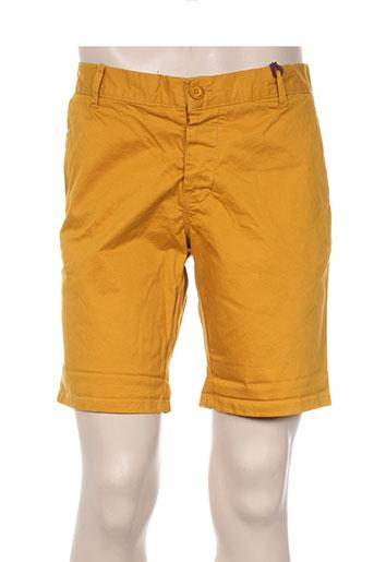 kiliwatch shorts / bermudas homme de couleur jaune