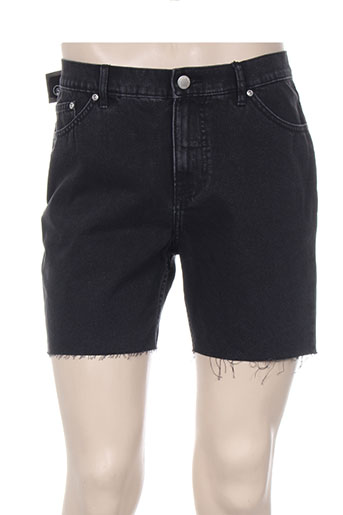 cheap monday shorts / bermudas homme de couleur noir