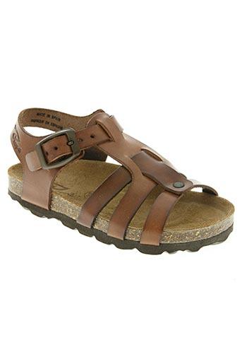 reqins chaussures garçon de couleur marron