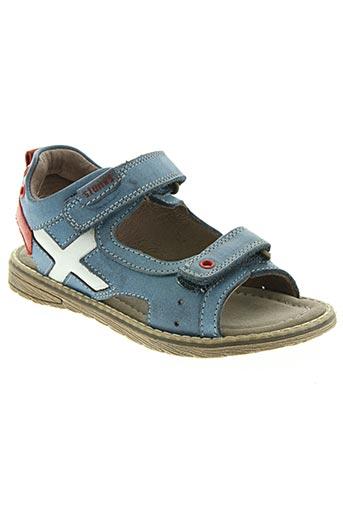 stones chaussures garçon de couleur bleu