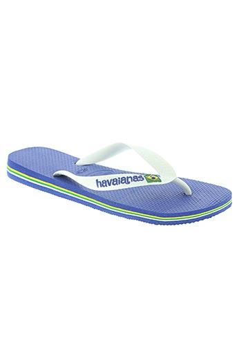 havaianas chaussures homme de couleur blanc