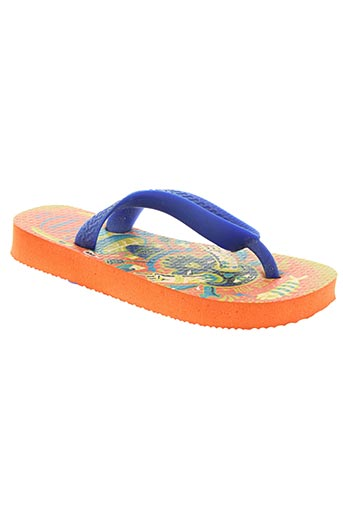havaianas chaussures garçon de couleur bleu