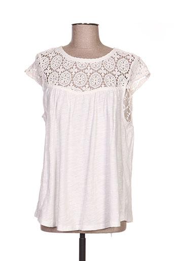 surkana chemises femme de couleur blanc