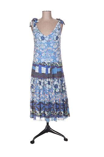 lulu.h robes femme de couleur bleu