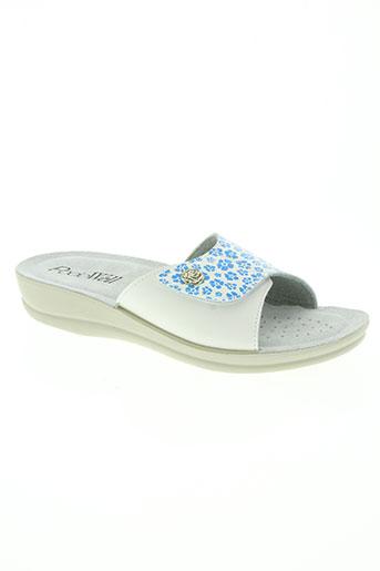podowell chaussures femme de couleur blanc
