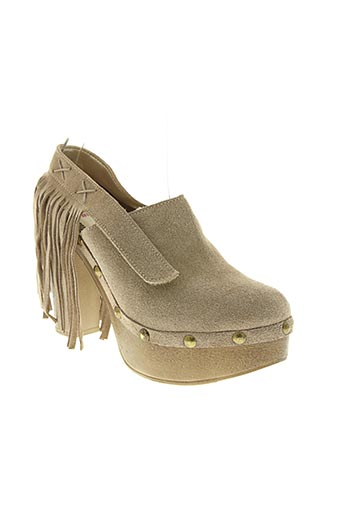 belkor chaussures femme de couleur beige