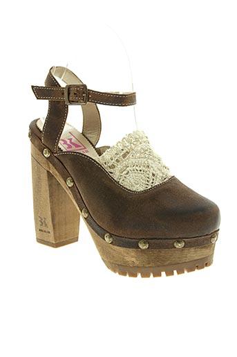 belkar chaussures femme de couleur marron