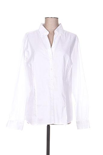 river woods chemises femme de couleur blanc