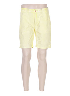 Short jaune SCOTCH & SODA pour homme
