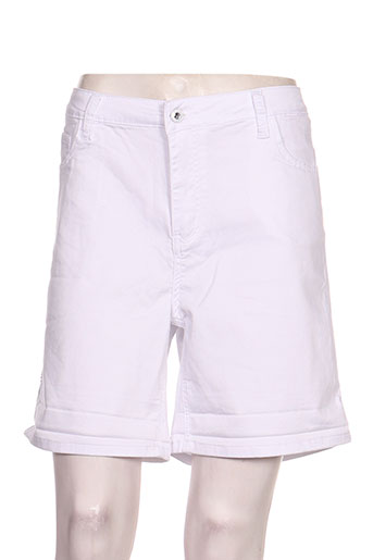 onado shorts / bermudas femme de couleur blanc