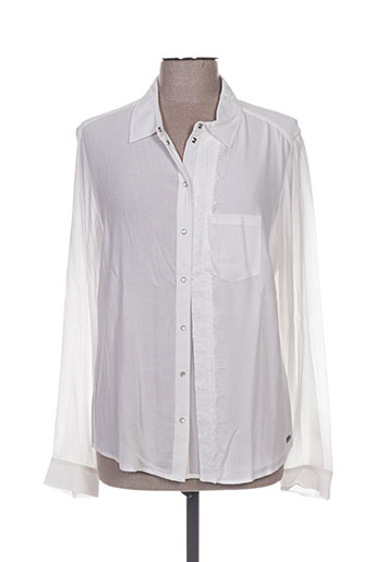 ddp chemises femme de couleur blanc
