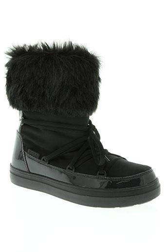 crocs chaussures femme de couleur noir