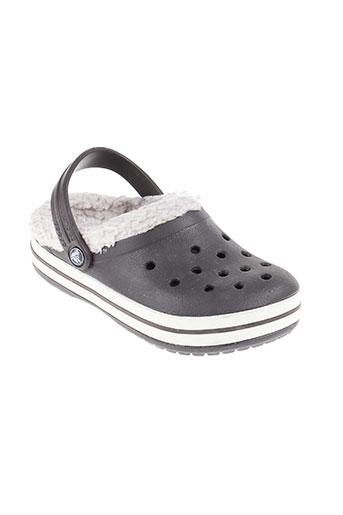 crocs chaussures enfant de couleur marron