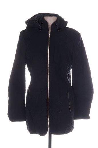 assuili manteaux femme de couleur noir