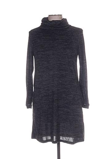 Robe courte gris BONOBO JEANS pour femme