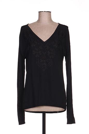 expresso chemises femme de couleur noir