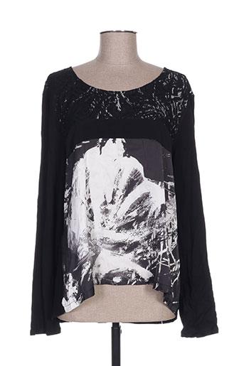 julie guerlande chemises femme de couleur noir