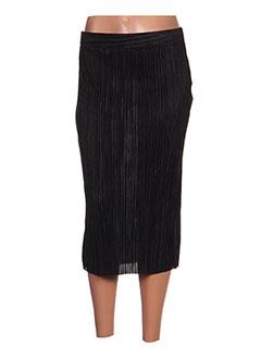 Jupe mi-longue noir CACHE CACHE pour femme