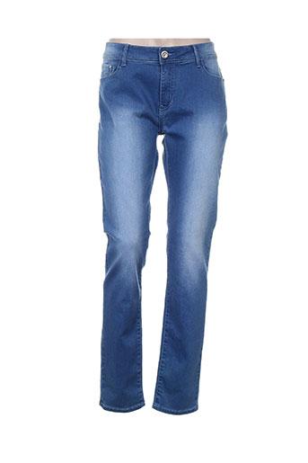 vavell jean jeans femme de couleur bleu