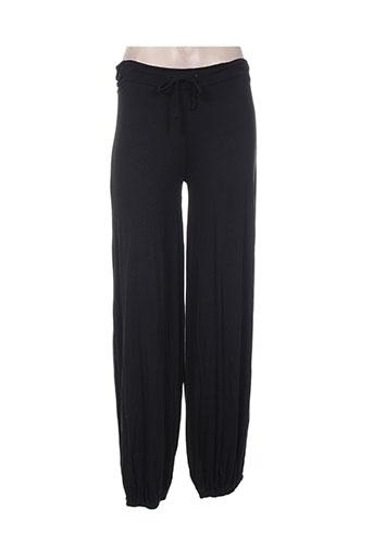 alison.b pantalons femme de couleur noir