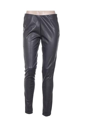 expresso pantalons femme de couleur gris