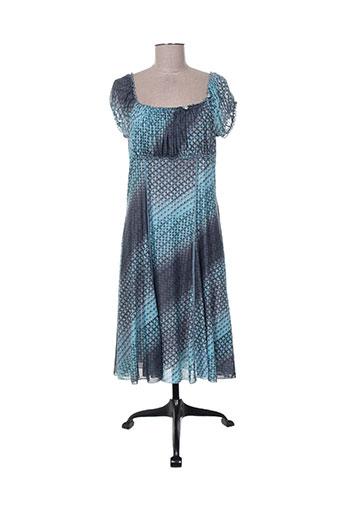geisha robes femme de couleur bleu