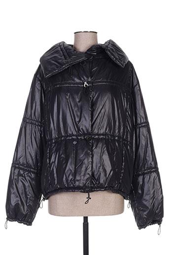 ramosport manteaux femme de couleur noir