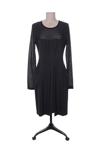high robes femme de couleur noir
