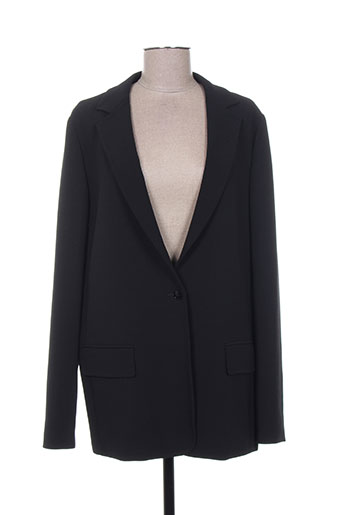 maxmara vestes femme de couleur noir