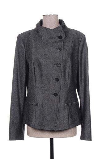 maxmara vestes femme de couleur gris