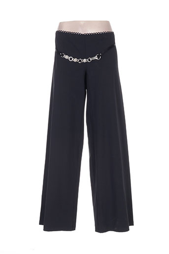 high pantalons femme de couleur noir