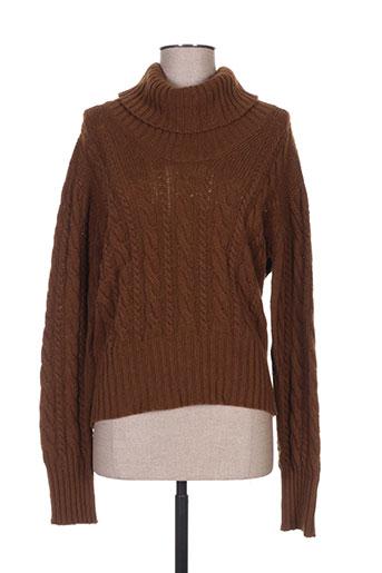 maxmara pulls femme de couleur marron