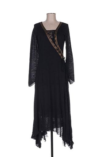 Robe longue noir ROBERTA SCARPA pour femme