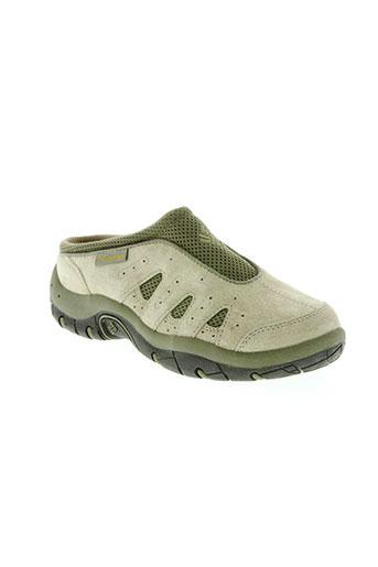 columbia chaussures femme de couleur vert