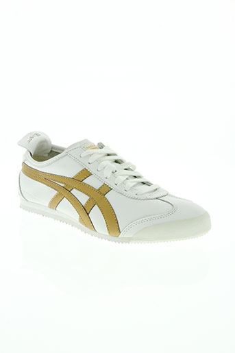 onitsuka tiger chaussures homme de couleur blanc