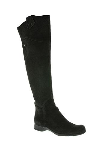 ikks chaussures femme de couleur noir
