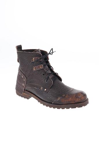 nobrand chaussures homme de couleur marron