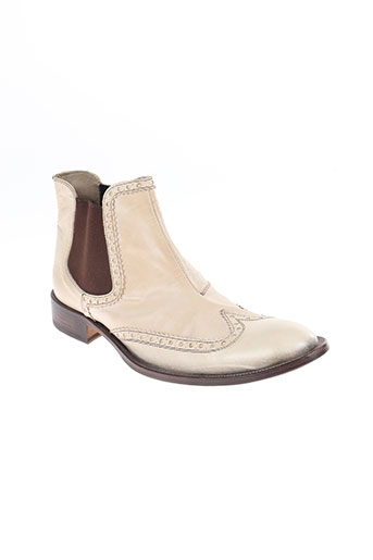 paul may chaussures homme de couleur beige