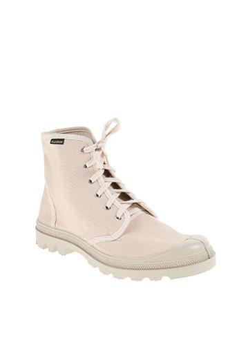 palladium chaussures homme de couleur beige