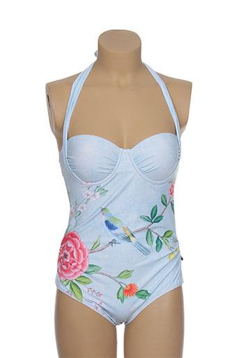 pip studio maillots de bain femme de couleur bleu