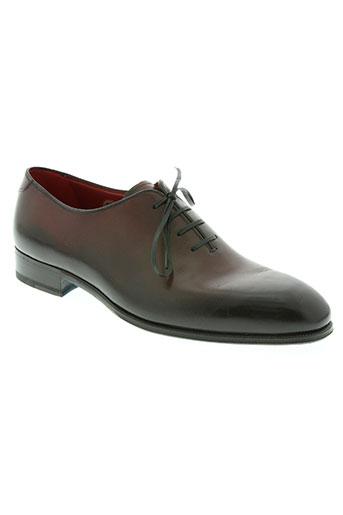 carvil chaussures homme de couleur marron