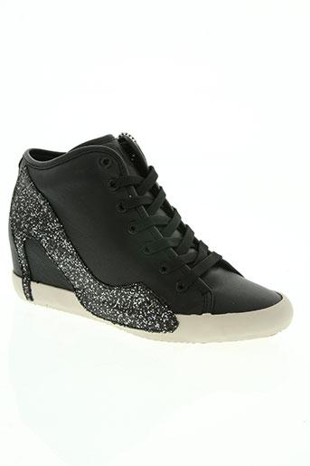 olo chaussures femme de couleur noir