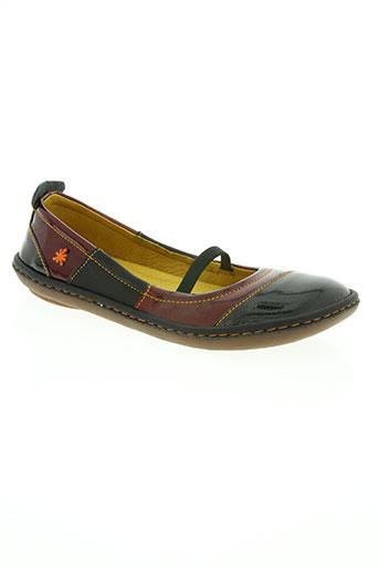 art chaussures femme de couleur rouge