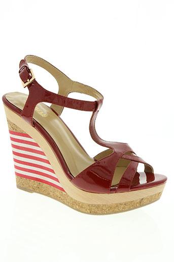 starfly chaussures femme de couleur rouge